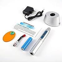 Luz fotopolimerizável 5W de alta potência Led fotopolimerizador Equipamento odontológico Dispositivo de luz LED sem fio…