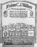Photo: Madam C.J. Walker--Preparations,1920,Advertisement,cold cream,complexion product