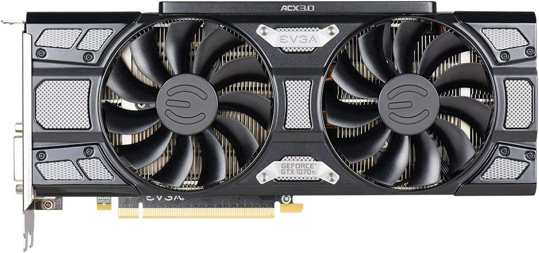 8GB GDDR5 esc/áner OC Tarjeta gr/áfica 08G-P4-5670-KR PXOC LED Blanco EVGA GeForce GTX 1070 Ti Gaming Soporte DX12OSD EVGA OCX