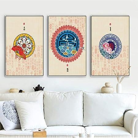 adgkitb canvas Significado auspicioso Chino Tradicional Pintura ...