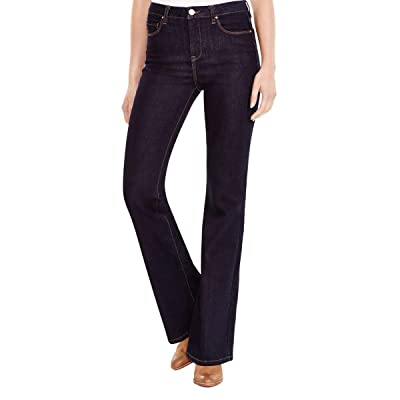 Blank NYC Womens Dark Wash Classic-Rise Flare Jeans Denim 24