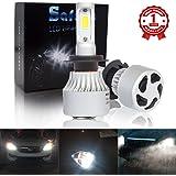 Safego H7 Faro Bulbi Auto LED Luci 8000LM Super Luminosa Lampada con COB Chip per Auto veicolo Faro Della Luce Delle Lampadine dell'automobile Kit LED 6500K Bianco 12V DC