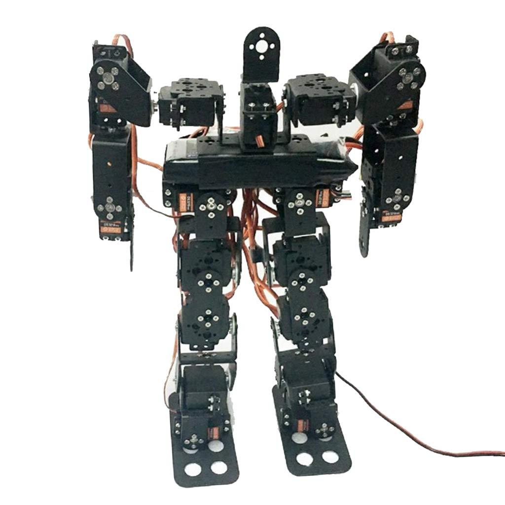 Homyl Clásico Robot Bipedal para Camino 17 Grados de Libertad Humanoide Accesorio de Equipamiento Industrial