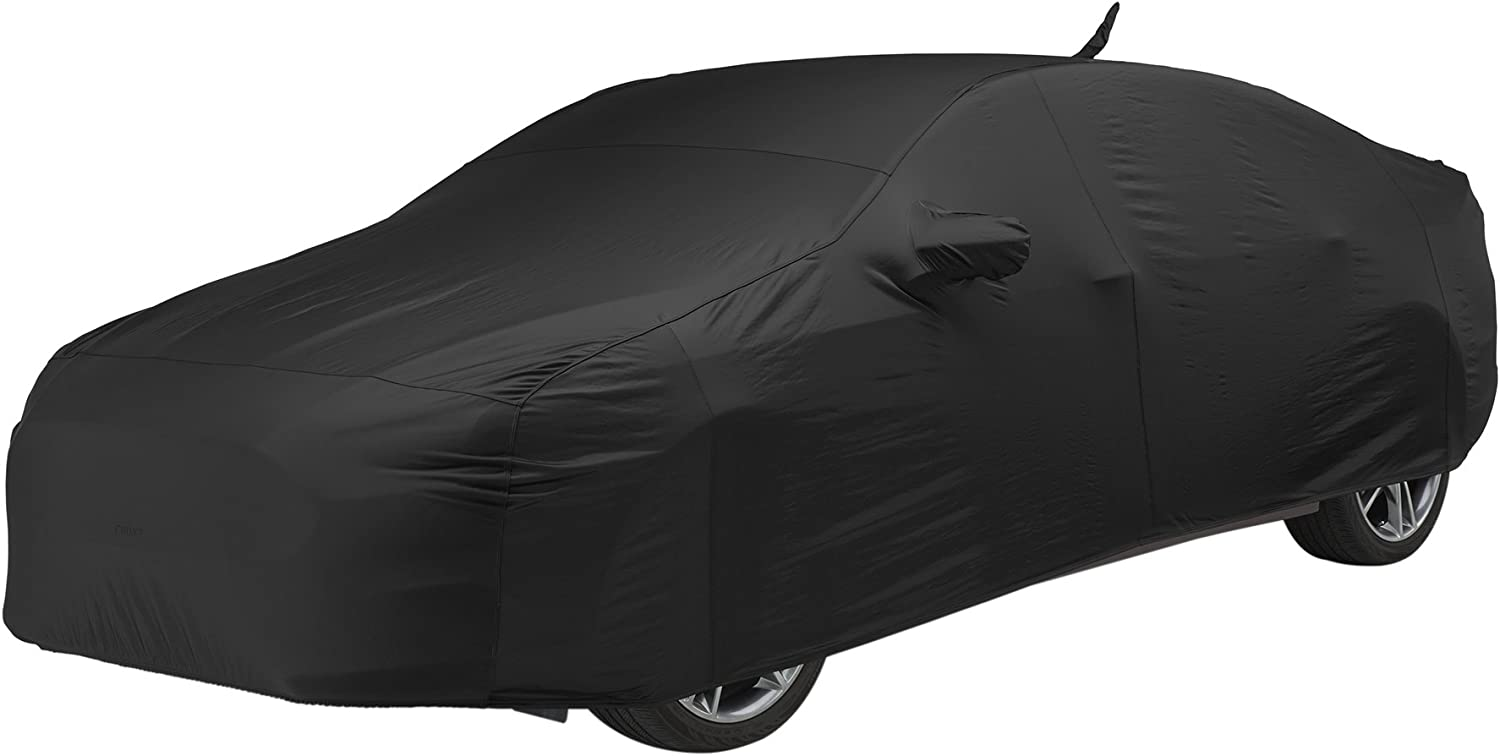 Covercraft FS17352F5 Black Custom Fit Car Covers Fleeced Satin FS17353F5