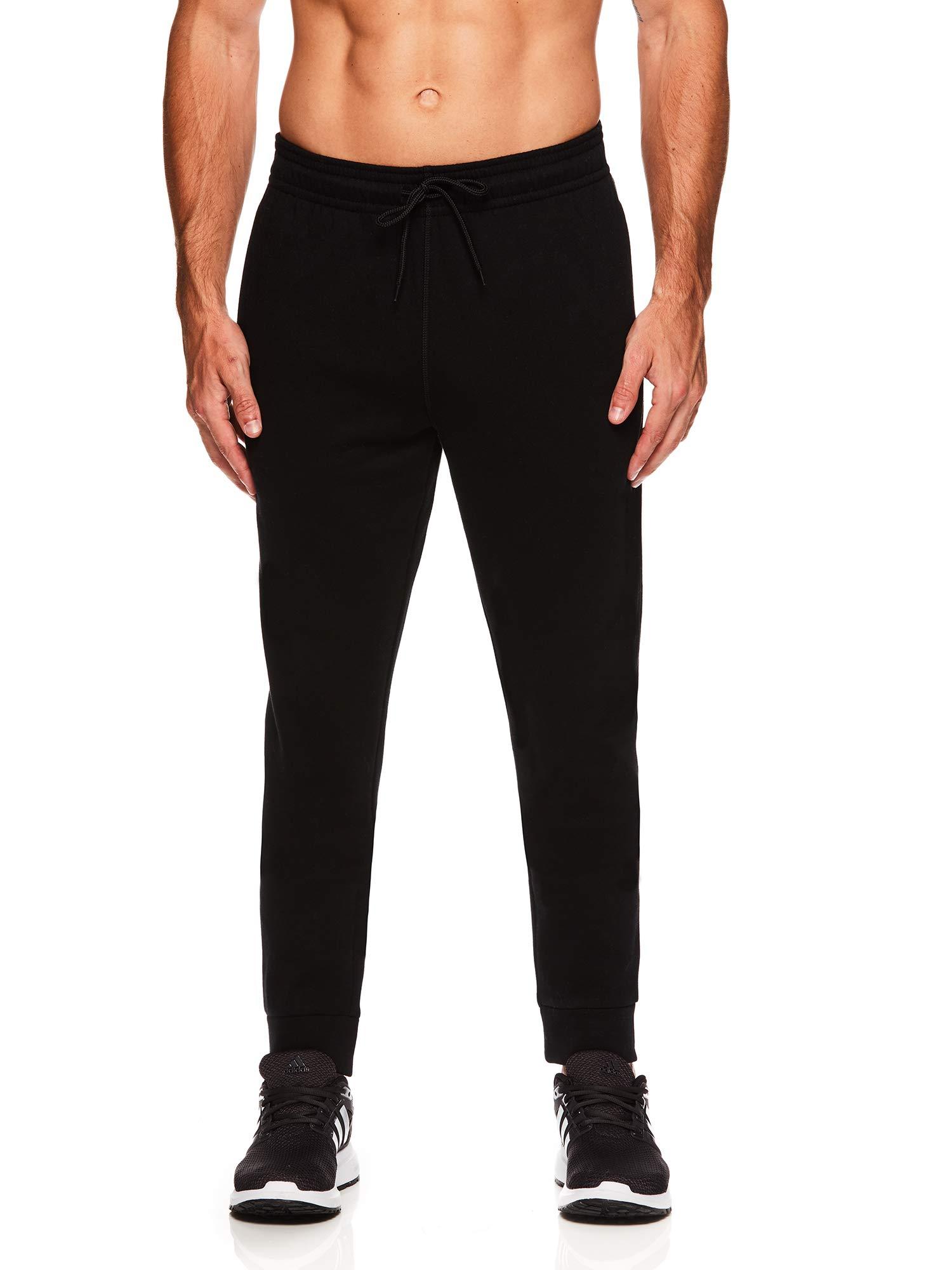 HEAD Men's Jogger Activewear Pants - Performance Workout & Running Sweatpants - Ultra Black, Small