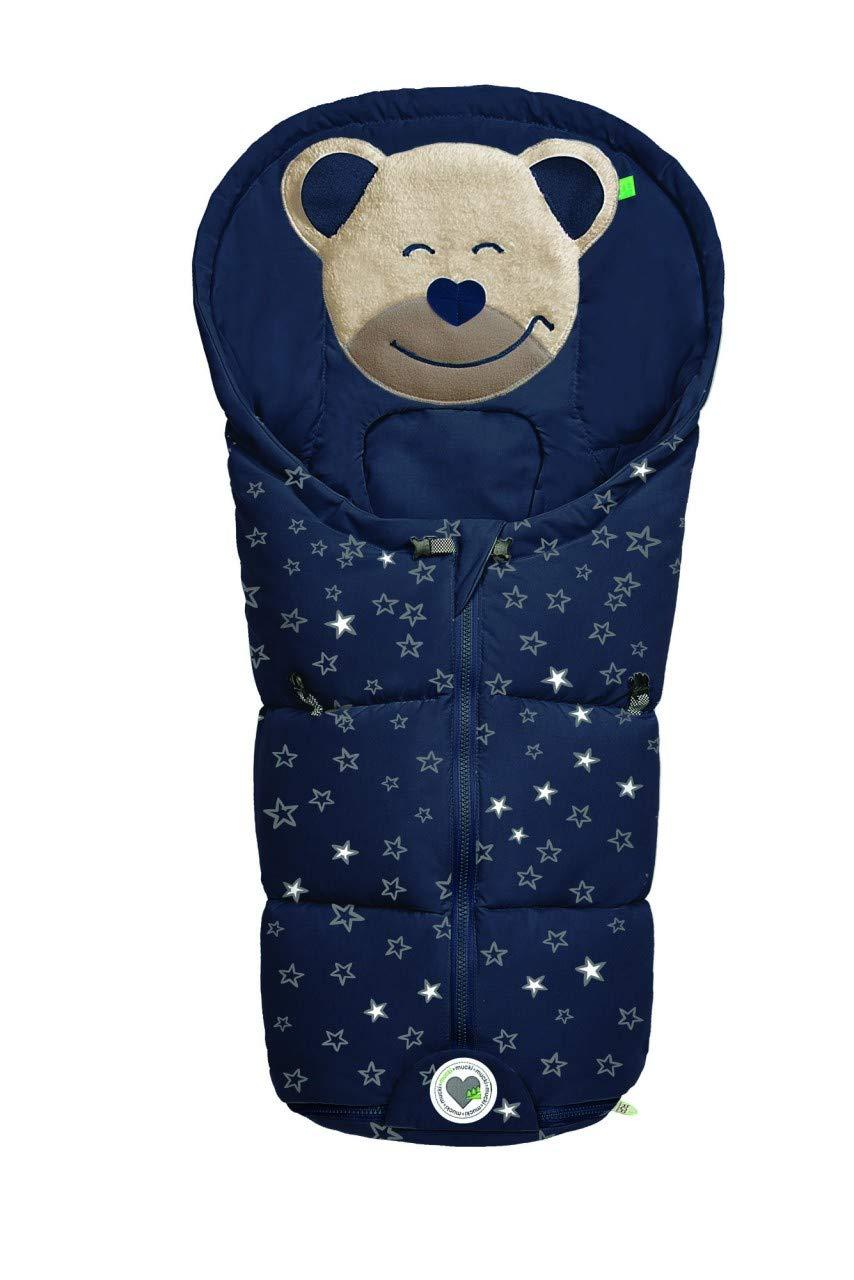 Odenwälder Fußsäckchen Mucki Für Gr 0 Babyschale Fashion Sparkling Stars Marine Baby