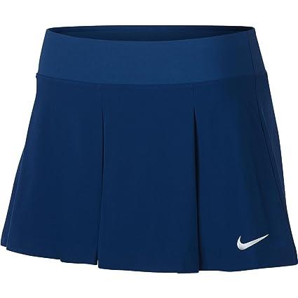 Nike COURT Flex Tenis Skort - Falda de tenis mujer - Azul, verano ...