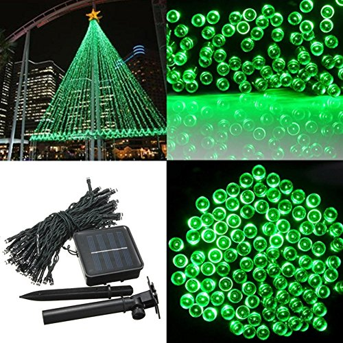 72' Pond (Humasol Copper Wires Solar Powered String Lights 72ft 200 LED Bulbs for Home, Backyard, Patio, Parties, Christmas and Outdoors)