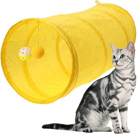 chunnron Cosas para Gatos Túnel del Gato Gato Tienda Túnel para ...