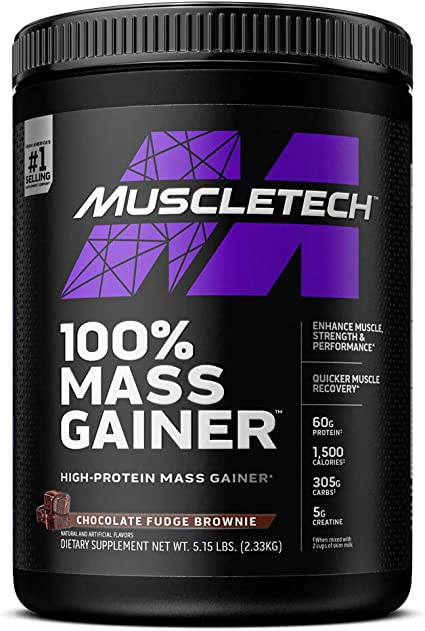 Muscletech Pro Series Mass Gainer (5lbs) 1 Unidad 2270 g