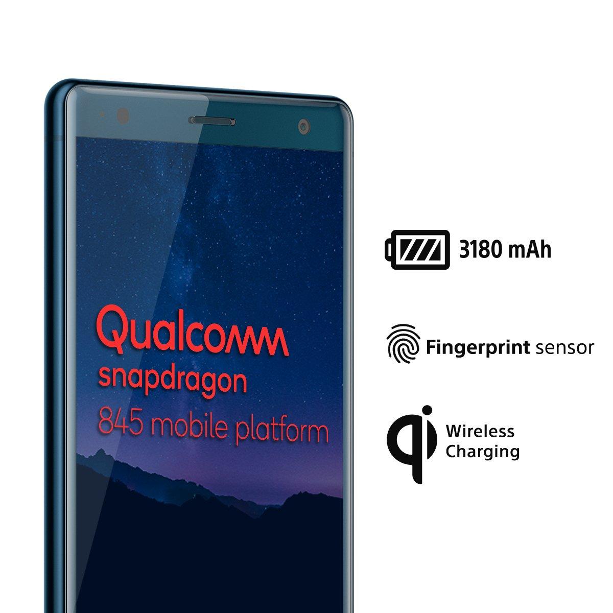 55349679a Smartphone Sony xperia xz2 8216 64gb 5.7