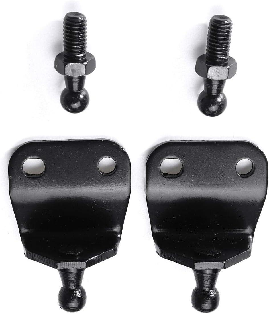 Kamenda 2 x Universal 400 mm 300N Cubierta delantera del coche cap/ó trasero del maletero del maletero del maletero del amortiguador de la barra de soporte de resorte de gas