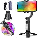 Gimbal Stabilizer for Smartphone, Hohem iSteady X 3-Axis Handheld Steadicam Phone Stabilizer for iPhone 11 X XR XS 8 7…