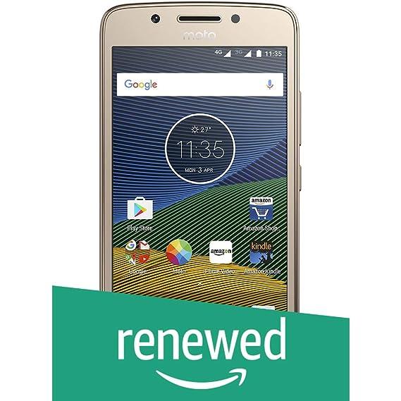 (Renewed) Motorola G5 XT1677 (Lunar Grey, 16GB)