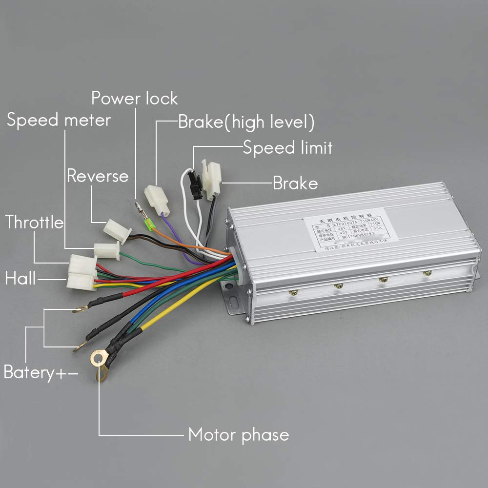48v 750w Dc Brushless Mid Drive Motor Electric Diagram Free Engine Image For User Motorcycle Bldc Kit With Speed Controller E Dirt Bike Tricycle