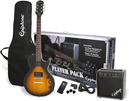 Epiphone Les Paul Player Pack de guitarra eléctrica: Amazon.es ...