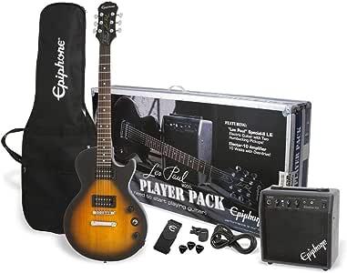 Epiphone Les Paul Player Pack de guitarra eléctrica: Amazon.es ...
