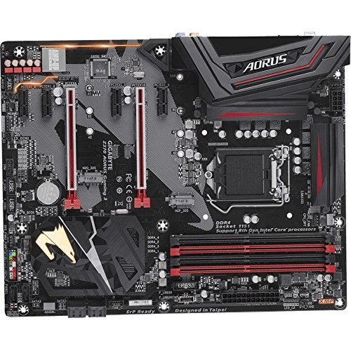 Gigabyte Z370 AORUS Gaming 3 Intel LGA1151/ATX/2xM.2/Front USB 3.1/RGB Fusion/Fan Stop/Crossfire Motherboards