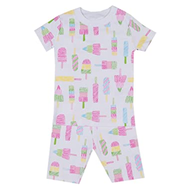 Kissy Kissy Little Girls Pajamas Spring 2018 Print Short Pajamas - Popsicle- 2 f259ba3a8