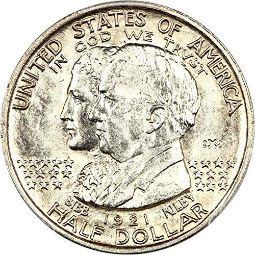 1921 P Silver Commemoratives Alabama 2x2 Half Dollar MS64 PCGS