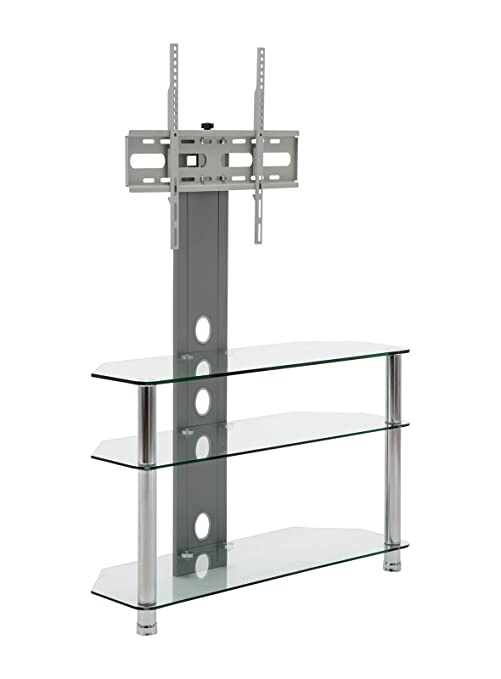 Amazon Com Mmt Floor Tv Stand With Mount For Flat Screens Fits 30