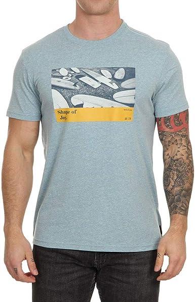 BILLABONG Dynamics - Camiseta de manga corta, color azul