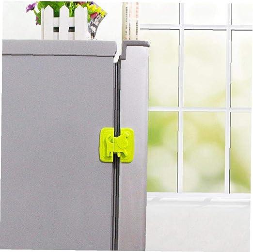Gabinete Puerta del refrigerador Aseo Bloqueo de Seguridad para la ...