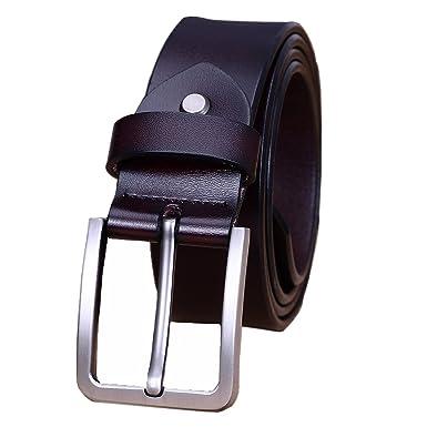 2d3fff747ce Modesty Ceinture pour homme en cuir avec boucle d ardillon ceinture exquis  ceinture chic(