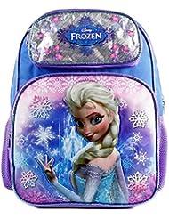 Disney Frozen Elsa Blue Girls 16 Large Backpack for School