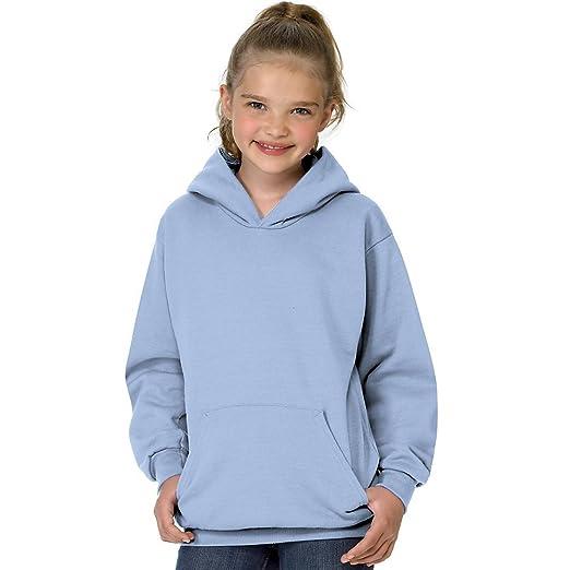 34d4a99e3c3 Hanes Youth ComfortBlend reg  EcoSmart reg  Pullover Hoodie Light Blue XS