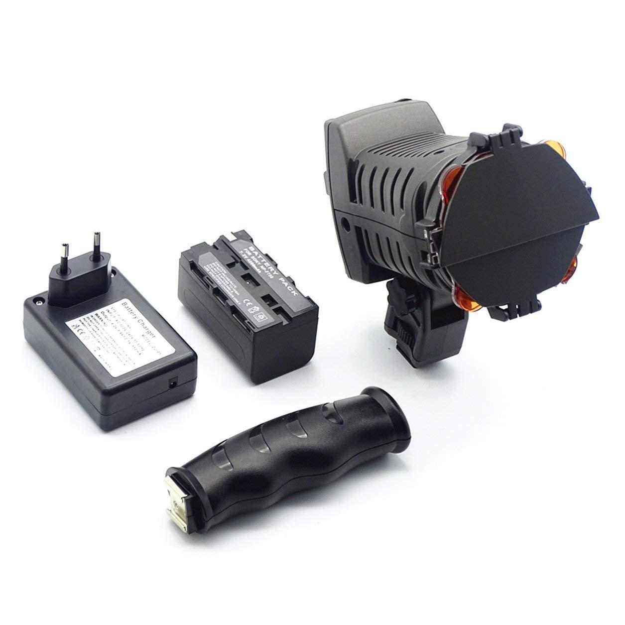 Kit LED-5010A Photo Professional Lighting SLR Camera luce fotografica,nero