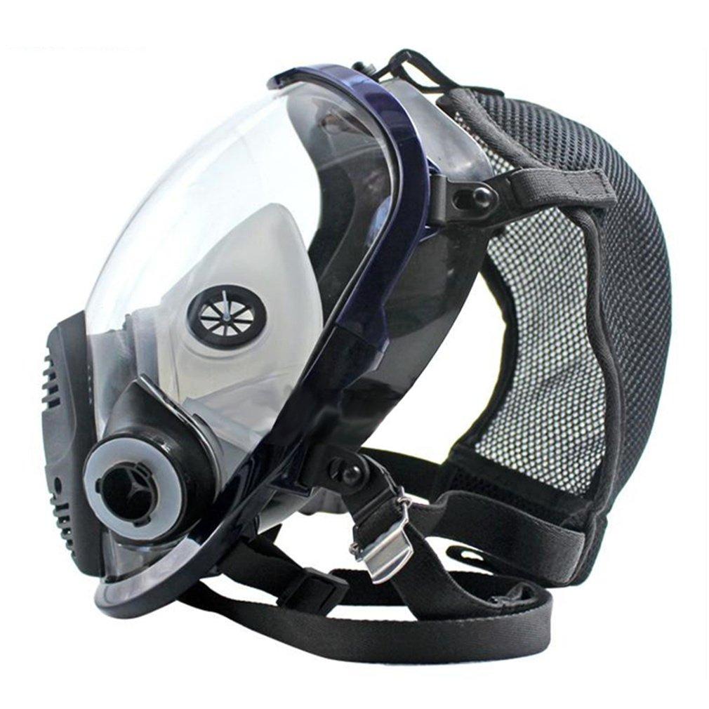 REBUNE 7 In 1 Set Full Face Gas Mask Full Facepiece Respirator For Painting Spraying Protection Tool by REBUNE (Image #5)