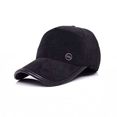 ab6a457f736 Men s winter hat ear cap baseball cap thick warm autumn middle-aged men and  elderly