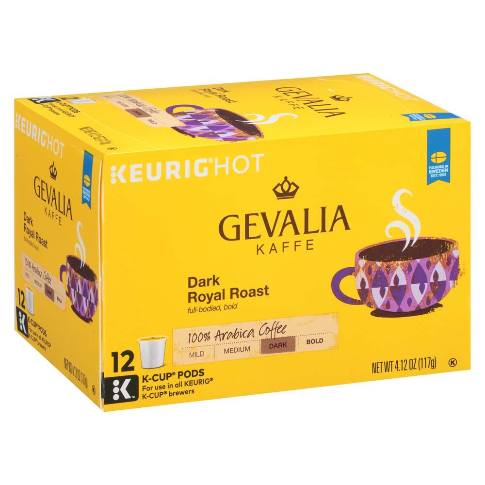 Gevalia Dark Royal Roast K-Cup Packs - 12 count