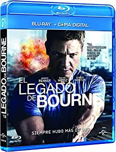 El Legado De Bourne [Blu-ray]