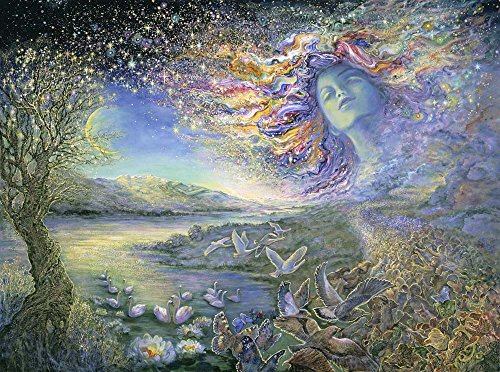 Star-Scape by Josephine Wall Art Print, 18 x 13 inches