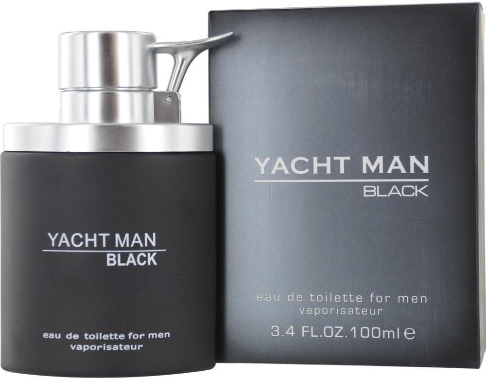 myrurgia Yacht Man Black Eau De Toilette vaporisateur/Spray para ...