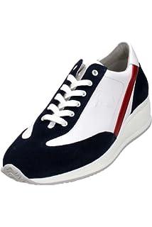 Trussardi Jeans 77S07549, Baskets Homme, Bleu (48 Blu), 43 EU