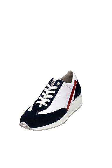 3f4c360e1a61 Trussardi Jeans 77S073 Sneakers Homme Cuir  Amazon.fr  Chaussures et ...