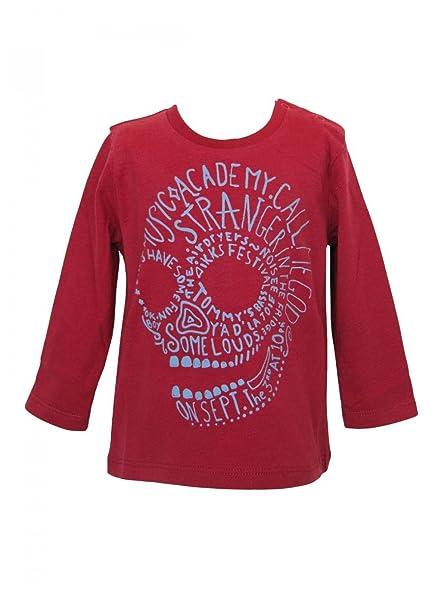 3ce6fd0fa6bb6 IKKS - T-shirt manches longues rouge Ikks  Amazon.fr  Vêtements et ...