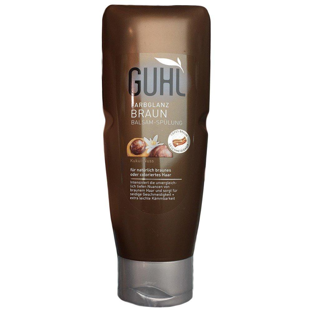 Guhl Farbglanz Braun Kukui Nuss Shampoo 200ml Amazonde Beauty