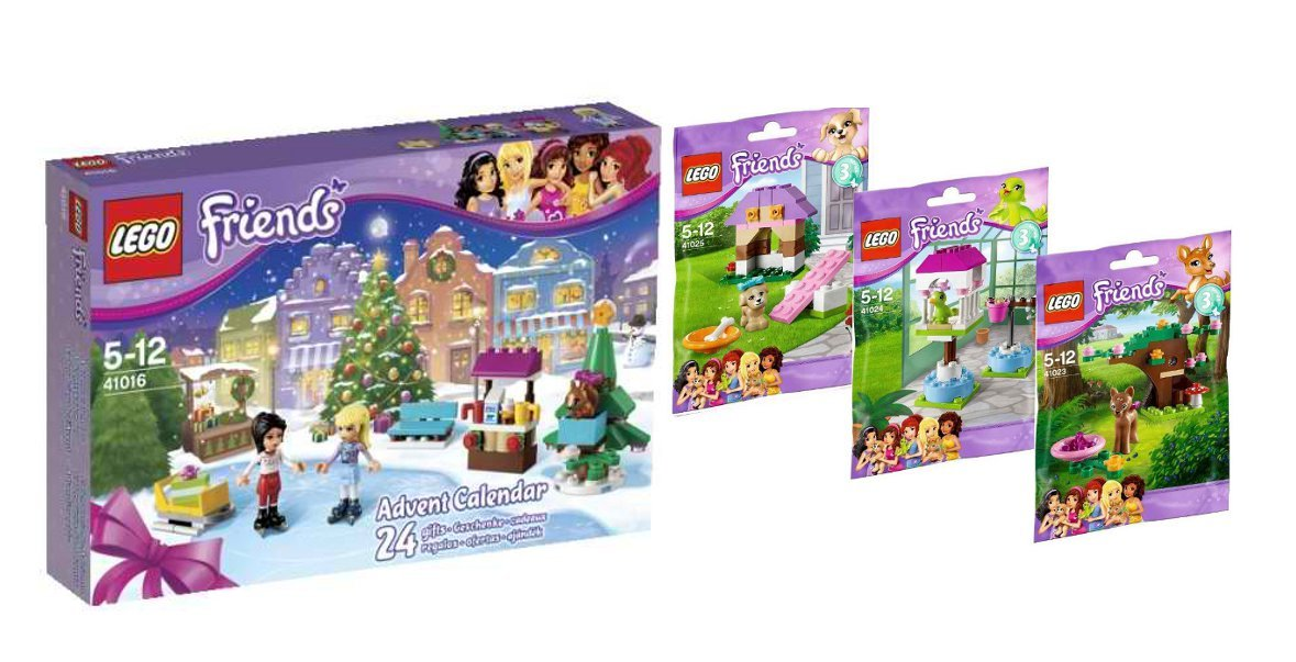 Weihnachtskalender Lego Friends.Lego 41016 Adventskalender 2013 Friends 3 Er Set Serie 3 41023