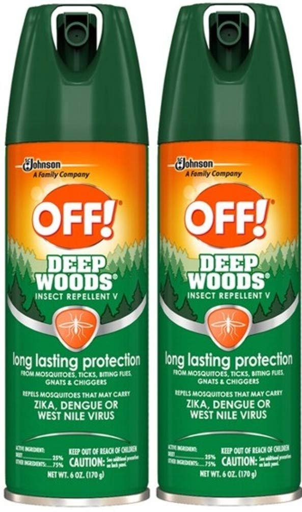 OFF! Deep Woods Insect Repellant Spray, 6 OZ