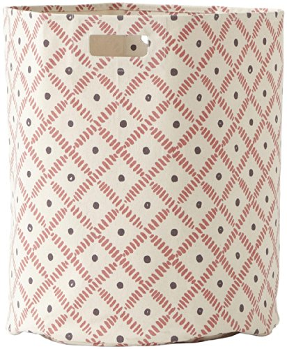 hot sale 2017 Pehr Designs Weave Hamper-Plum/Berry
