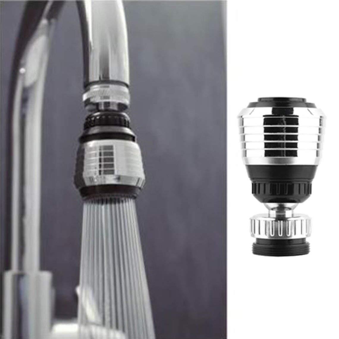 Multifunktionale 360 Drehen Swivel Wassersparhahn Bel/üfter Wasserhahn D/üse Filter Wasser Bubbler K/üche Zubeh/ör