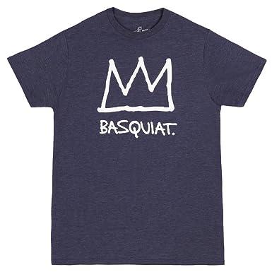 Jean-Michel Basquiat Basquiat Corona Adulto Camiseta: Amazon.es: Ropa y accesorios