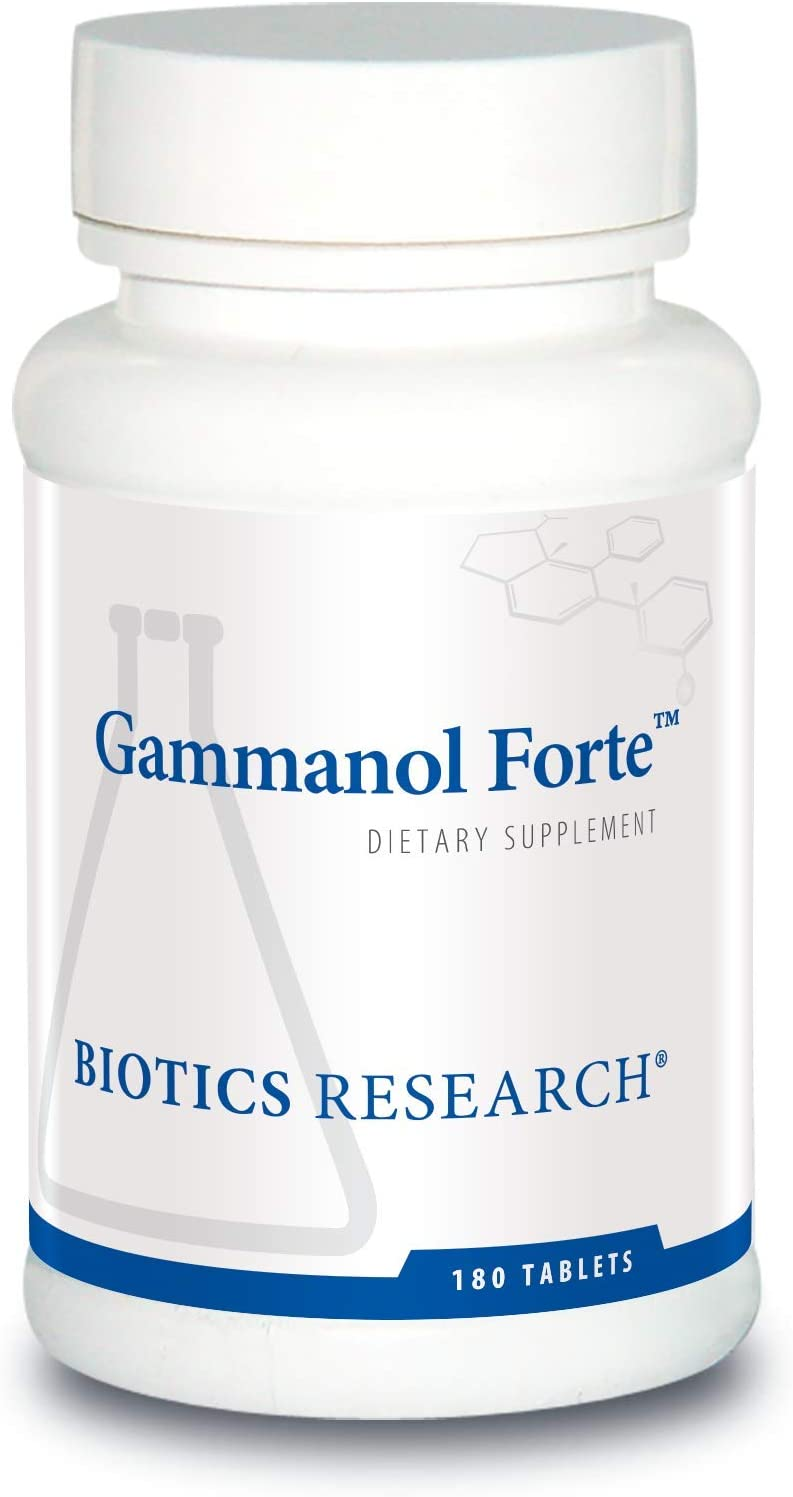 Biotics Research, Gammanol Forte 180 Tablets by Biotics Research