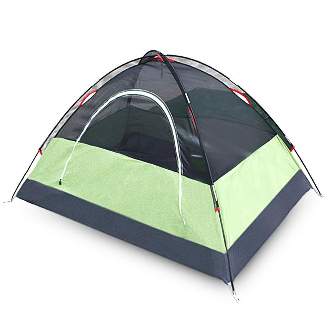 Sakuldes Bergsteigen-Zelt Reise-Zelt  1-2 Personen winddichtes Sonnenschutzzelt für Outdoor-Athleten (Farbe  Reise-Zelt  Grün) d39af9