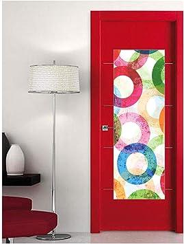 CustomGlass Cristal Decorado para Puertas de Interior Modelo Andra, Incluye instalación en (Madrid): Amazon.es: Hogar