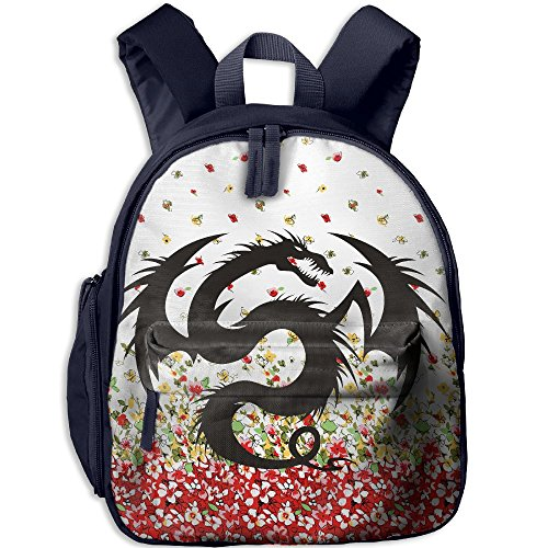 Third Wheel Costume Ideas (Dragon Hot Sale Child Shoulder School Bag School Backpack School Daypack For Teens Boys Girls Students Navy)
